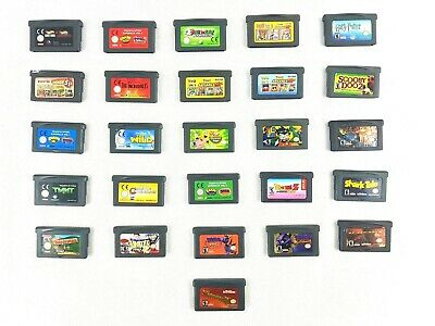 Nintendo Gameboy Advance Game Cartridges - Like New - Free Shipping in Australia