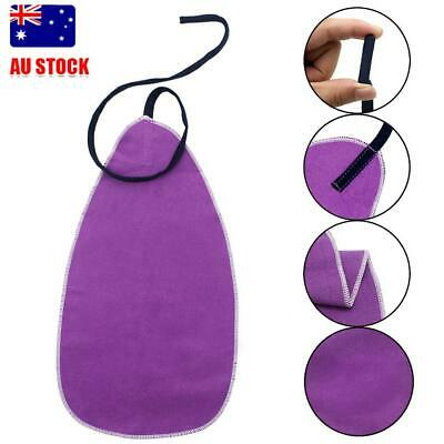 LADE Durable Saxophone Cleaning Care Alto Sax Maintenance Cleaning Cloth Purple