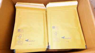 Aeropost Gold Kraft Padded Bubble Envelopes Bags All Sizes