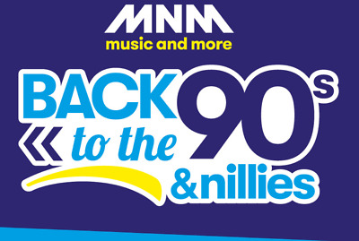 MNM Back to the 90s & Nillies duo ticket vrijdag 5 april 2019 sportpaleis