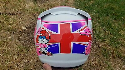 Jenson Button 2014 Full Size Replica Mclaren Tribute Helmet No Reserve