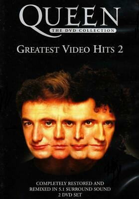 Queen Dvd Collection: Greatest Video Hits 2 Dvd Brand New & Factory Sealed