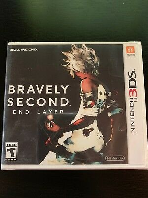 Bravely Second: End Layer (Nintendo 3DS, 2016) *NEW*