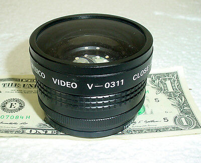 Ambico Video V-0311 Close-Up Wide View Lens Mounts  58 Or 49mm