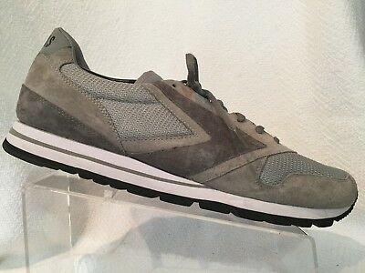 2c64cf35a7d Brooks Heritage Chariot Grey Mesh Suede Casual Sneakers Mens 13 D 11018781 D  205