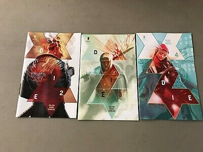 DIE 2-4 COVER A SET Keiron Gillen Stephanie Hans Image Comics First Printing HOT