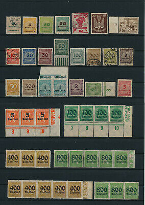 Germany, Deutsches Reich, Nazi, liquidation collection, stamps, Lot,used (EG 33)