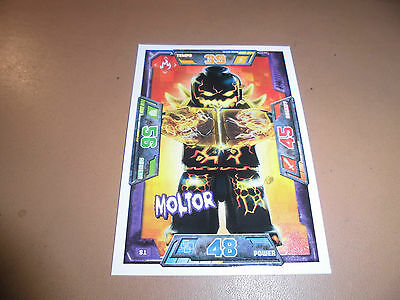 Lego Nexo Knights Trading Card Game Nr. 81 Moltor