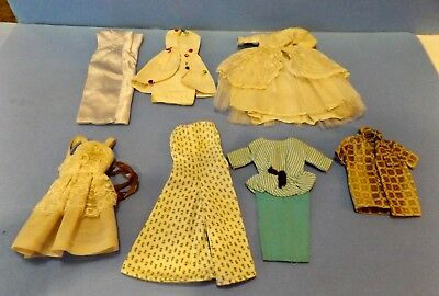 Lot of OLD VINTAGE DOLL CLOTHES