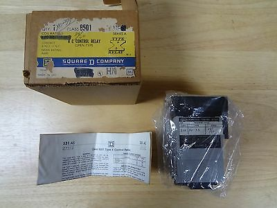 Square D Ac Control Relay 8501X033 New In Box Free Shipping (3B)