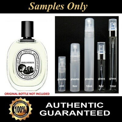 Diptyque PHILOSYKOS EDT - Travel/Tester Sample - 2ml, 5ml or 10ml sizes