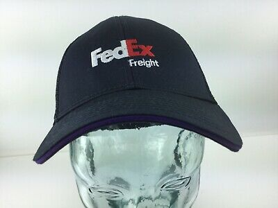 9393d14f486a0 FedEx Freight Dad Hat Cotton Ball Cap Snapback mesh Navy One Size Fits Most