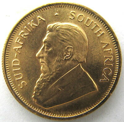 1982 ~ 1/4 oz. ~ South African Krugerrand Gold Coin