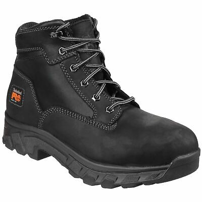 Timberland Pro Workstead Black Hiker Safety Water resistant nubuck leather S3