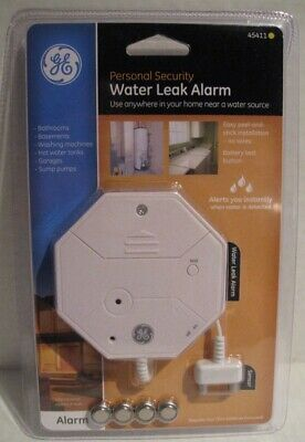 GE 45411 Personal Security Water Leak Alarm NEW