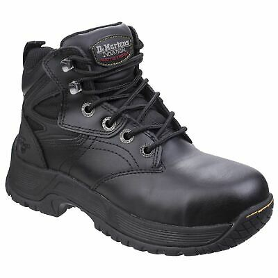 Dr Martens Torness Black Boots Safety Leather S1