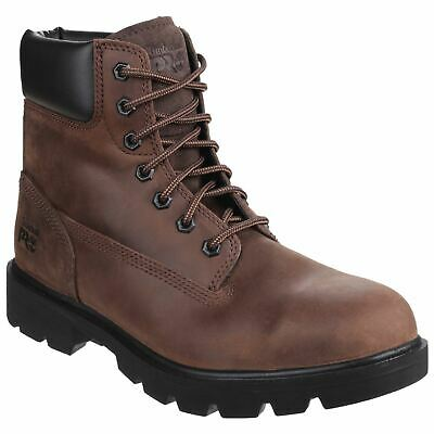Timberland Pro Sawhorse Brown Boots Safety Leather SB