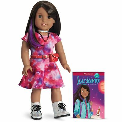 American Girl Luciana Vega Doll & Book American Girl of 2018 New Damaged Box
