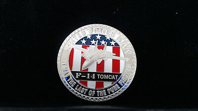 1 oz .999 Fine Silver Round Bar Bullion Coin F-14 Tomcat