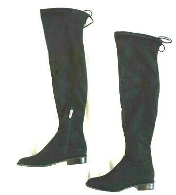cd90c33b335 MARC FISHER IDLE Gray Suede   Stretch Over the Knee Boots 7.5M NEW ...