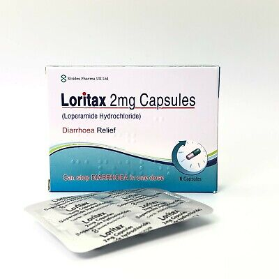 36 Diarrhoea Relief 2mg Capsules Loperamide Hydrochloride Tablets Tillomed
