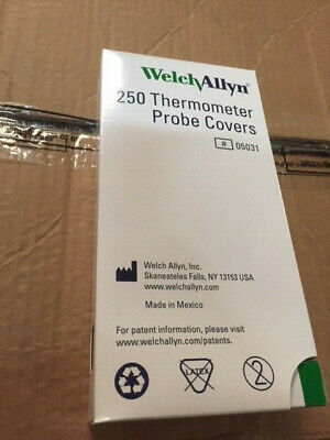 Welch Allyn 05031 Suretemp Plus 690 Probe Covers Box Of 250 Thermometer (New)