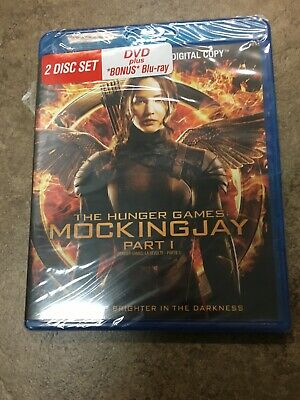 The Hunger Games: Mockingjay - Part 1 [Blu-ray + DVD + Digital Copy]