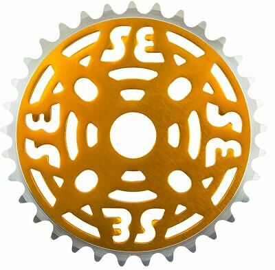 SE RACING BIKES  ONE PIECE ALLOY 33T ANODIZED BLUE CHAINRING SPROCKET