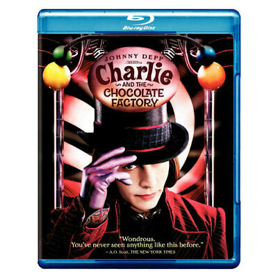 Warner Home Video Br202878 Charlie & The Chocolate Factory (Blu-Ray)