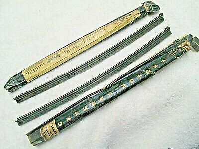 """Vintage NEW OEM 12"""" wiper refills for Trico Rainbow wipers with dots on side"""