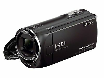 Sony Handycam HDR-CX220E Camcorder schwarz - Digital HD Video Camera Recorder