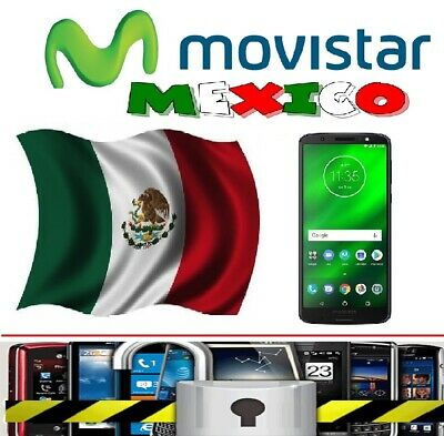 Movistar Mexico Unlock Code Moto Z G6 Plus G5 E4 E5 Z3 G4 Play Samsung S8 S9