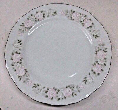 Sheffield Fine China Japan Classic 501 -  Dinner Plates Roses (9)