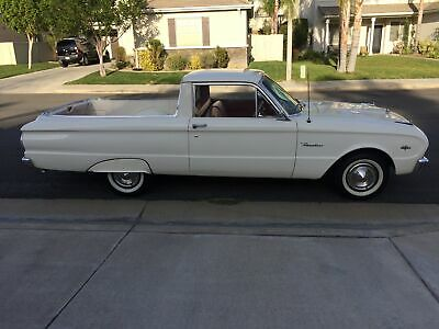 1963 Falcon -WHITE BEAUTY FROM CALIFORNIA-RUST FREE CLASSIC- 1963 Ford Falcon, White with 16,421 Miles available now!