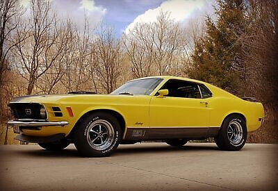 1970 Mustang -MACH 1 -R CODE 428 COBRA JET- 77,000 ACTUAL MILES 1970 Ford Mustang, Yellow with 77,000 Miles available now!