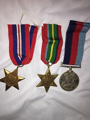 Original Wwii Pacific Star Medal Group