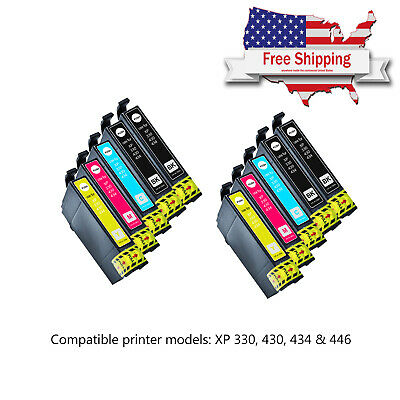 Compatible Remanufactured Ink Cartridge For Epson XP330 XP430 XP-434 XP-446 lot
