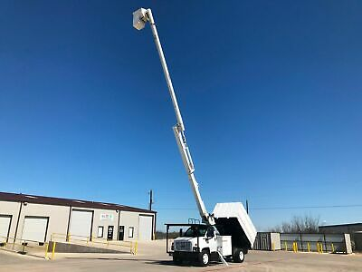 Gmc 7500 Forestry Bucket Truck 60 Ft Altec No Cdl Needed Chipper Dump Bed 2006