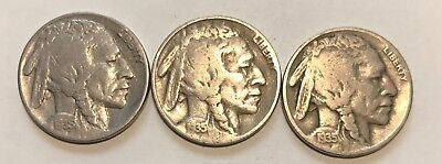 1935-P/d/s   Buffalo Nickels  ***nice High Grade Coins***     #2127