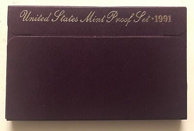 1991-S  **** United States Proof Set ****  L@@k At Pictures!!!!!   #2820