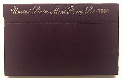1991-S  **** United States Proof Set ****  L@@k At Pictures!!!!!   #2819