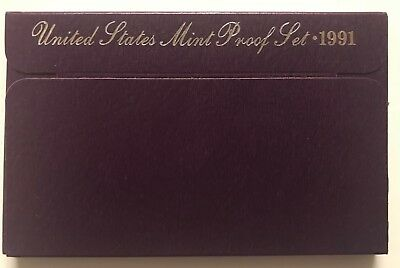 1991-S  **** United States Proof Set ****  L@@k At Pictures!!!!!   #2821
