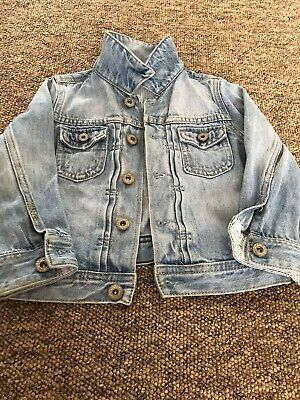 Gap baby boy Jeans jacket with jeans short,size 2 years