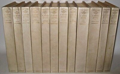 LEATHER Set;O.HENRY's Works!RARE MANUSCRIPT EDITION!First 1/125 Western WEST 1st