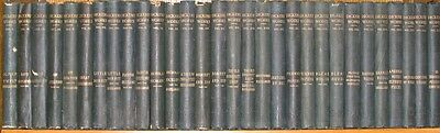 Complete WORKS of CHARLES DICKENS! not Leather fine bindings library antique set