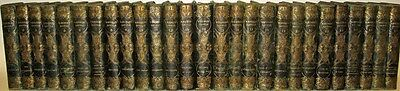 LEATHER Set;SIR WALTER SCOTT Works!WAVERLY NOVELS 1st FIRST EDITION library GIFT