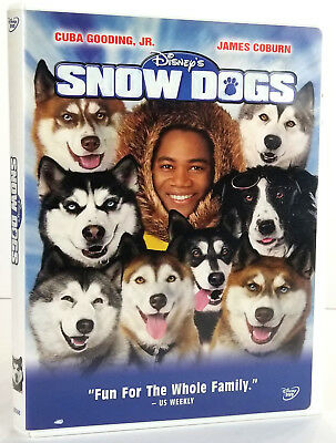 Disney's Snow Dogs (DVD, 2002) Cuba Gooding, James Coburn