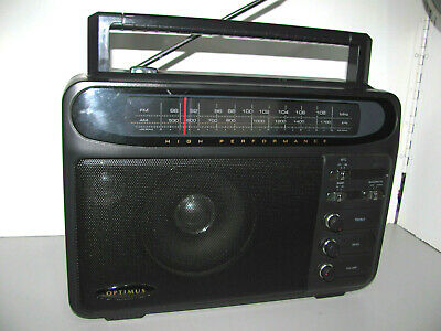 Radio Shack Optimus Extended Range High Performance Super Radio Model 12-603