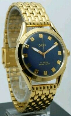 ORIS SWISS MADE,  Hand winding vintage,  FHF ST-96, 36mm, 17 jewels WORKING