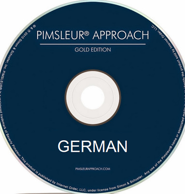 Pimsleur GERMAN III - Gold Edition - 16 CDs - Level Three/ 3 - Complete Course